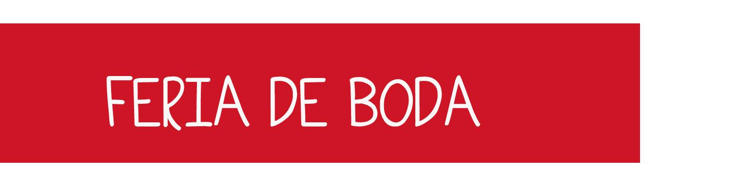 FERIA DE BODA