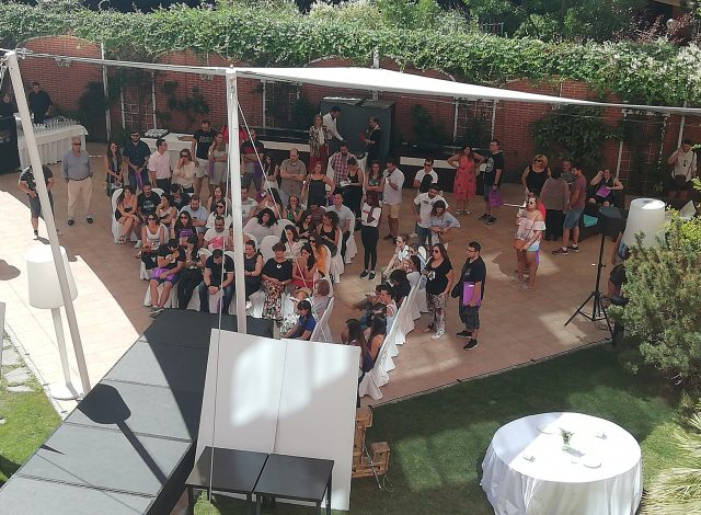 Desfile Colección Trajes de novia en Rafael Hoteles Atocha- Madrid