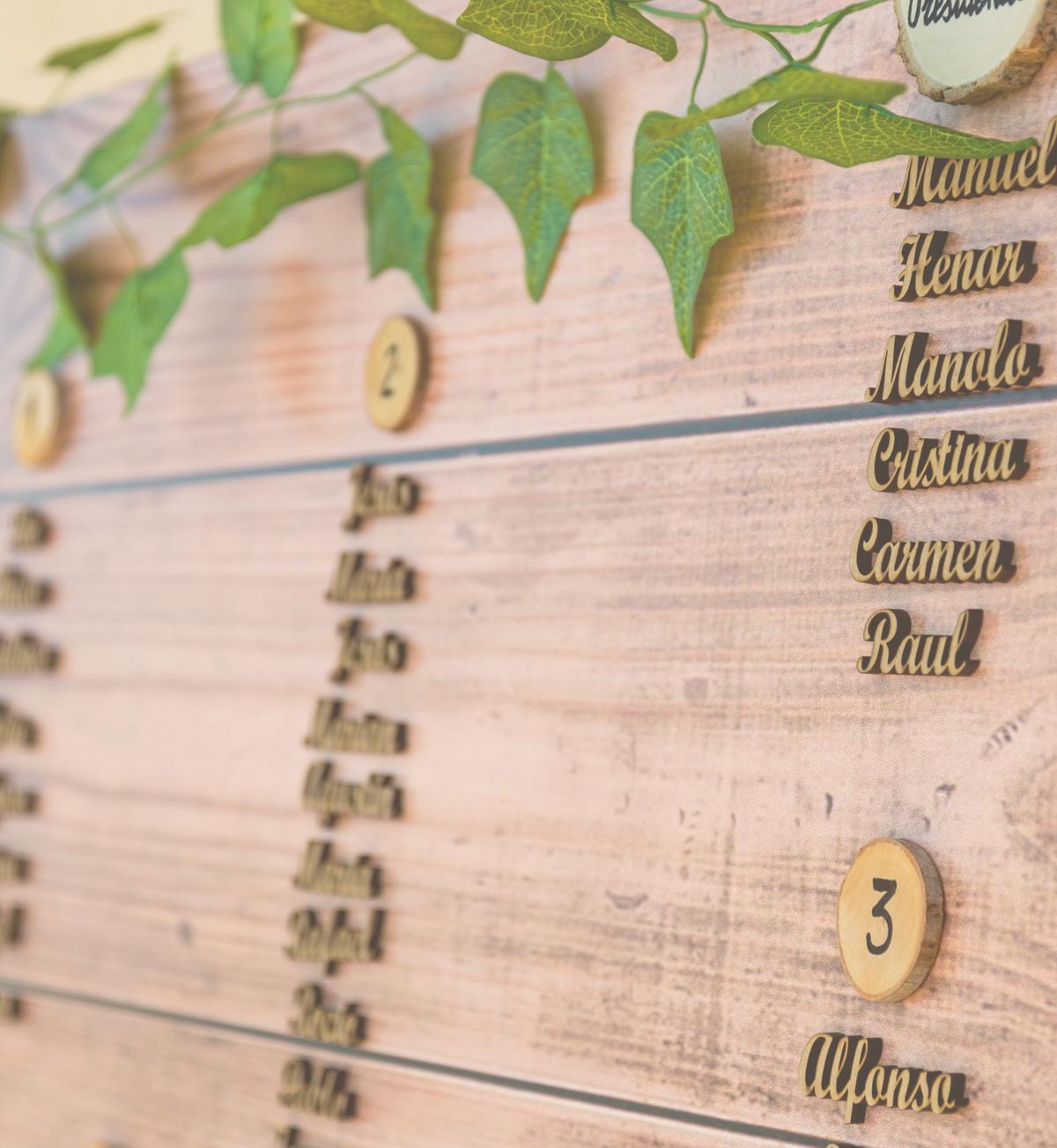 Imprenta de boda: Photocalls y Cartelería personalizada.