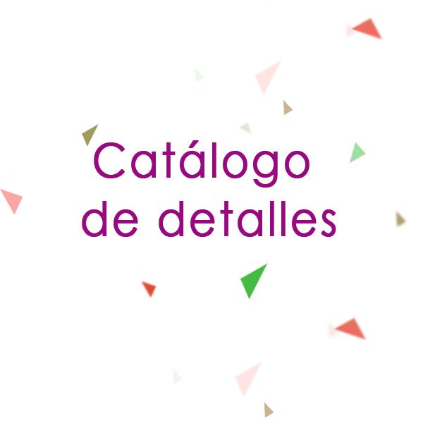 Catálogo de Detalles
